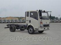 豪沃牌ZZ1107D3815D199型载货汽车底盘