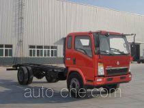豪泺牌ZZ1127D4215D120型载货汽车底盘