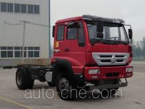 斯达-斯太尔牌ZZ1161G381GD1型载货汽车底盘