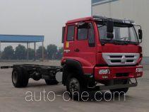 斯达-斯太尔牌ZZ1161H471GD1型载货汽车底盘
