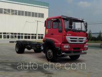 黄河牌ZZ1164K4516D1型载货汽车底盘
