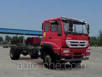 黄河牌ZZ1164K5016D1型载货汽车底盘