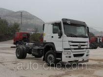 豪沃牌ZZ1167M4617E1型载货汽车底盘