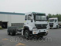 斯达-斯太尔牌ZZ1251M464GE1L型载货汽车底盘