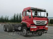 斯达-斯太尔牌ZZ1251M574GD1型载货汽车底盘