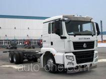 汕德卡牌ZZ1256M504GD1型载货汽车底盘