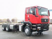 汕德卡牌ZZ1256V524ME1型载货汽车底盘