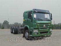 豪沃牌ZZ1257N3647E1型载货汽车底盘