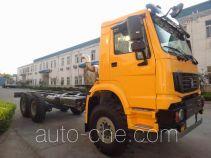豪沃牌ZZ1257V4347D1型载货汽车底盘