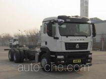 汕德卡牌ZZ1266N504GE1型载货汽车底盘