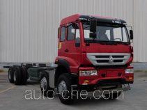 斯达-斯太尔牌ZZ1311N476GD1型载货汽车底盘