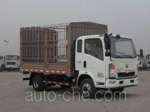 豪沃牌ZZ2047CCYE3425D145型越野仓栅式运输车