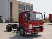 豪沃牌ZZ3047E3415D143型自卸汽车底盘
