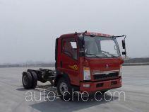 豪沃牌ZZ3047F3315E141型自卸汽车底盘