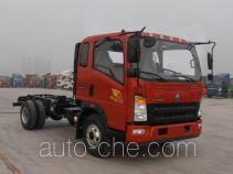 豪沃牌ZZ3047G331CE141型自卸汽车底盘