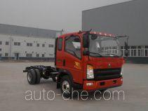 豪沃牌ZZ3087F341CE183型自卸汽车底盘