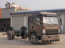 豪沃牌ZZ3167G421CE1型自卸汽车底盘