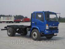 黄河牌ZZ3167G5115D1型自卸汽车底盘