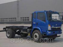 黄河牌ZZ3167K4115D1型自卸汽车底盘