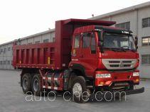 斯达-斯太尔牌ZZ3251N4041E1L型自卸汽车