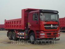 斯达-斯太尔牌ZZ3253N3841E1L型自卸汽车