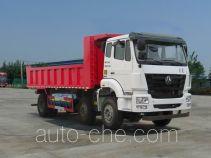 豪瀚牌ZZ3255M38C3E1L型自卸汽车