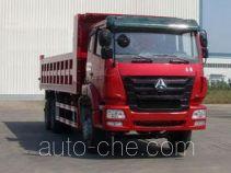 豪瀚牌ZZ3255N4046D1型自卸汽车