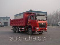 豪瀚牌ZZ3255N3646E1型自卸汽车