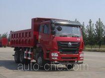 豪瀚牌ZZ3255N3846D1型自卸汽车