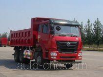 豪瀚牌ZZ3255N3846D1L型自卸汽车