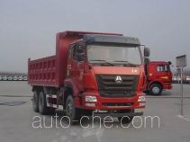 豪瀚牌ZZ3255N3846E1型自卸汽车