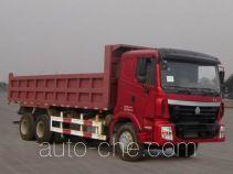 豪运牌ZZ3255N4045C2型自卸汽车