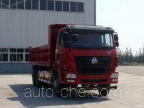 豪瀚牌ZZ3255N4046D1L型自卸汽车