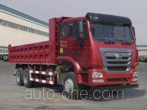 豪瀚牌ZZ3255N4046E1型自卸汽车