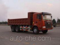 豪运牌ZZ3255N4945C2L型自卸汽车
