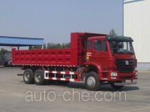 豪瀚牌ZZ3255N4946D1型自卸汽车