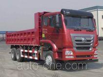 豪瀚牌ZZ3255N4946E1型自卸汽车
