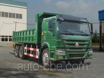 豪沃牌ZZ3257M4347D1型自卸汽车
