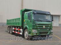 豪沃牌ZZ3257M5247D1型自卸汽车
