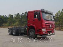 豪沃牌ZZ3257N3647E1型自卸汽车底盘