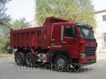 豪沃牌ZZ3257N3647P1型自卸汽车