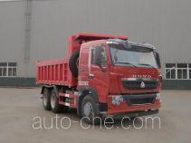 豪沃牌ZZ3257N384HE1型自卸汽车