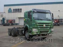 豪沃牌ZZ3257N4347E1型自卸汽车底盘