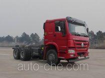 豪沃牌ZZ3257N4647E1型自卸汽车底盘
