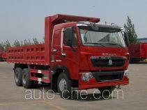 汕德卡牌ZZ3257V324HC1型自卸汽车