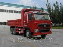 汕德卡牌ZZ3257V464HC1型自卸汽车
