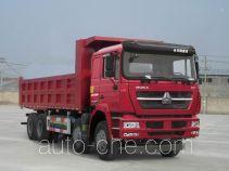 斯达-斯太尔牌ZZ3313N3861E1L型自卸汽车