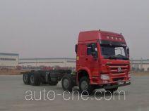 豪沃牌ZZ3317N4267E1型自卸汽车底盘