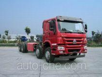 豪沃牌ZZ3317N4267E1C型自卸汽车底盘