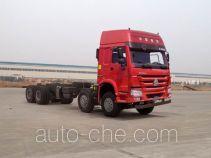 豪沃牌ZZ3317N4667E1型自卸汽车底盘